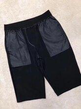 夏季男士運動褲七分褲男休閑褲寬松直筒褲青年工裝褲子男短褲潮流圖片