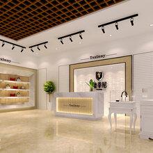 济南高定奢侈品化妆店皮具包店铺装修装饰设计施工公司