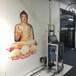 HZ-S2大型智能3d墻體彩繪機室內戶外立體廣告背景墻壁畫萬能印刷打印機