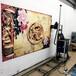 HZ-S23D墻體打印機戶外室內多功能自動噴繪機電視背景墻彩繪壁畫繪畫設備