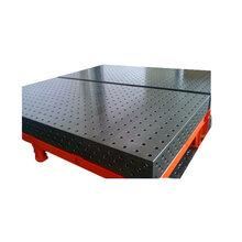 三維柔性焊接平臺鑄鐵檢驗平臺滄州華威機械制造圖片