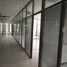 銀川辦公玻璃隔斷批發銀川酒店活動屏風廠家銀川霧化調光玻璃圖片