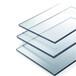 深圳鸿威厂家供应防刮花有机玻璃PC板,加硬透明亚克力板
