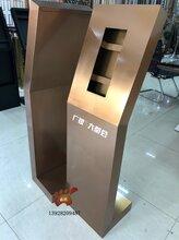 可视对讲304不锈钢门口机立柱制作流程详解效果细节展示图片