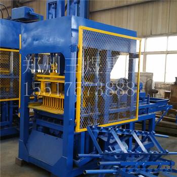 廠家批發多功能液壓水泥制磚機全自動免燒空心砌塊磚機路面磚機