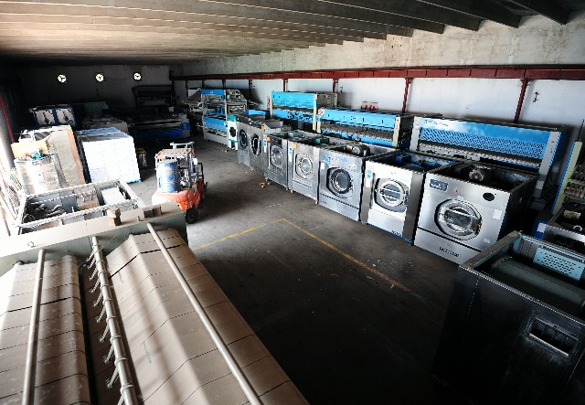 晋中转让二手威特斯UCC干洗店设备绿洲15公斤水洗机小型水洗机