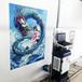 3d墻體立體彩繪機大型室內背景墻設備戶外廣告壁畫噴繪