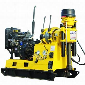 XY-3型岩心钻机转速范围宽分配合理