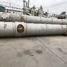 山東出售各種二手MVR蒸發器圖片