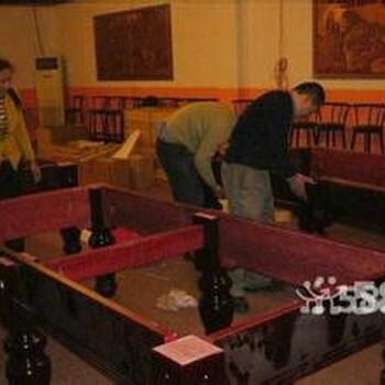 石家庄台球桌拆装维修公司星牌台球桌安装修理