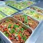 東莞企石食堂承包、蔬菜配送、團體餐配送圖片