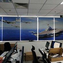 北京顺义订做电动窗帘会议电动窗帘办公遮光卷帘图片