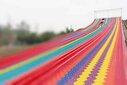山东中秋节大型活动网红々七彩滑道设备道具租赁□图片