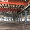 浙江台州大跨钢结构行车房拆除
