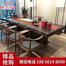 福建有卖实木大板桌工厂图片