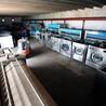 黑龙江永芳打包二手干洗店99热最新地址获取100KG烘干机二手洁希亚干洗机水洗机