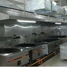 广州福麟环保承接全广州白铁风管,厨房油烟净化,油烟罩,厂房通风图片