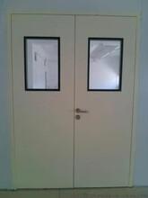 張家港醫院整體框門包口鋼制凈化醫療門圖片
