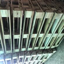 东莞实木托盘木卡板可熏蒸出口栈板钢扣箱木架图片