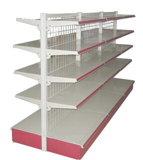 蔬菜货架饰品钛合金展示柜烤漆展柜钢木置物架吧台图片6