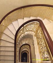 新曼藝術鋁樓梯扶手酒店高檔樓梯圖片圖片