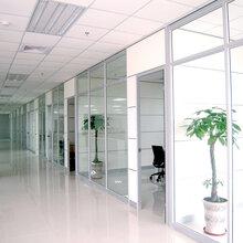 防火玻璃高隔間生產廠家防火玻璃隔斷安裝圖片