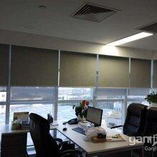 北京單位防曬卷簾公司隔熱窗簾定做酒店公寓布藝窗簾紗簾遮陽圖片