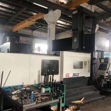 蘇州工廠在位出售蘇州德揚3022數控龍門銑床兩線一硬齒輪頭圖片