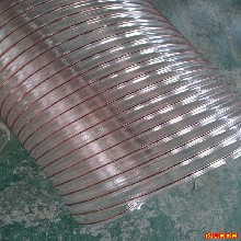 廠家現貨供應聚氨酯鋼絲吸塵軟管開料機吸塵管圖片