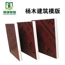 淄博木模板廠家三胺膠覆膜紅模板一次成型星冠木業圖片
