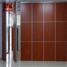 徐州餐厅移动隔断会议室活动隔音墙宴会厅推拉折叠活动屏风图片