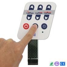 廠家特供運動器材專用薄膜開關可洗滌柔性面板LED薄膜開關圖片