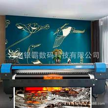 8d水晶立体壁画uv打印机背景墙18D打印机3.2米壁纸壁画8D打印机图片