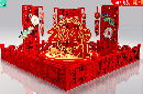 渭南新年春節美陳布置,商場美陳裝飾,廣場春節美陳制作工廠圖片