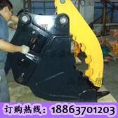 性能强大的挖掘机破碎锤多功能液压剪快速连接器方便快捷