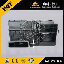 日本进口挖机配件供应PC1250-7暖风水箱ND116120-7990