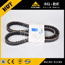 吉首小松挖掘机配件PC450-8发电机皮带价格优惠