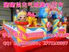 江苏南京广场新款猪猪侠充气城堡巨无霸儿童充气蹦床价格