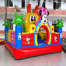 黔南地区商场儿童游乐设备充气蹦蹦床价格图片