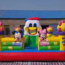 室内儿童充气淘气堡乐园蹦蹦床图片