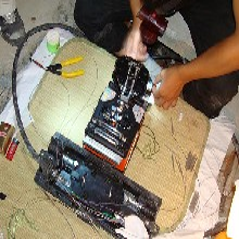 上海普陀区光缆熔接-万里街道光纤熔接图片
