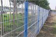 桃型立柱三角折弯护栏网小区别墅围网防护网铁丝网隔离