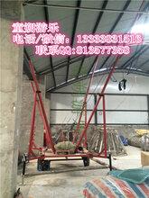 黑龙江钢架蹦极设备占地面积图片