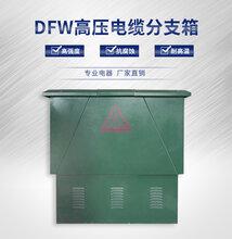 厂家直销DFW高压电缆分支箱高压环网柜户外箱式开闭所图片