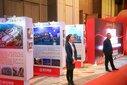 东莞展会布置搭建桁架会议背景板、舞台、音响租赁图片