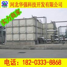 華強玻璃鋼水池,黑龍江供應玻璃鋼水箱廠家直銷圖片