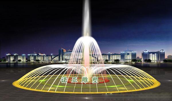 景观喷泉水景设计方案彩色音乐喷泉加工厂 (600x353)-音乐喷泉设图片