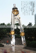 广场不锈钢圆规雕塑加工学校不锈钢雕塑青海不锈钢雕塑
