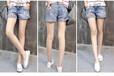 江苏无锡哪里有牛仔短裤女装地摊货源热卖便宜几元女装牛仔裤尾货清仓货源批发