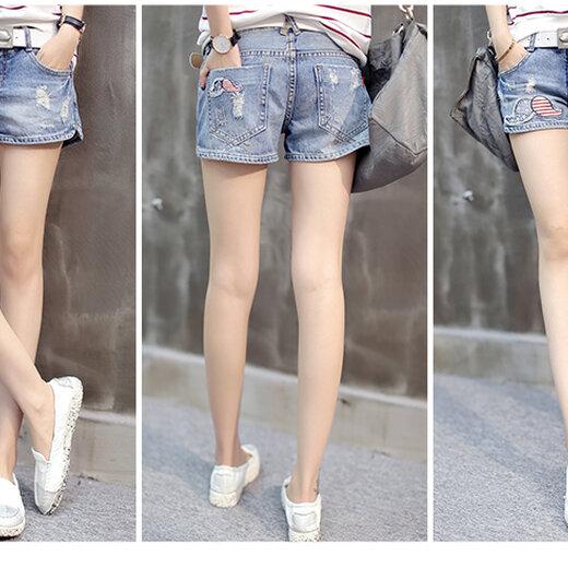 时尚牛仔短裤 (16)